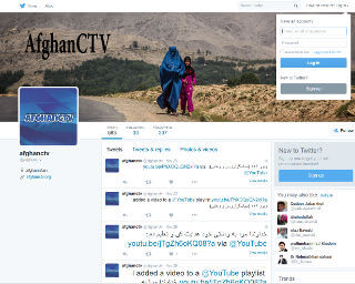 TV Twitter page